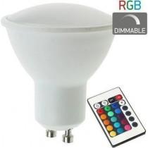 ΛΑΜΠΑ LED GU10 RGB 4,5W...
